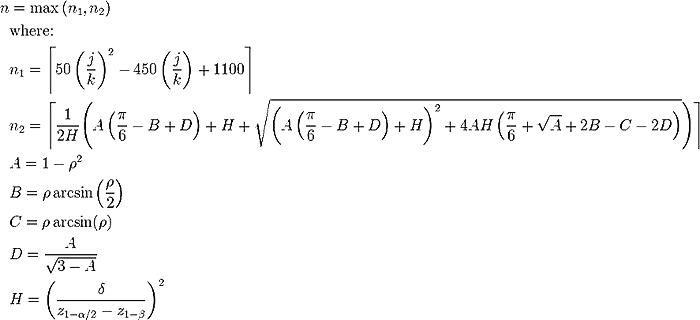 Sample Size Formula : Baybayinart.com